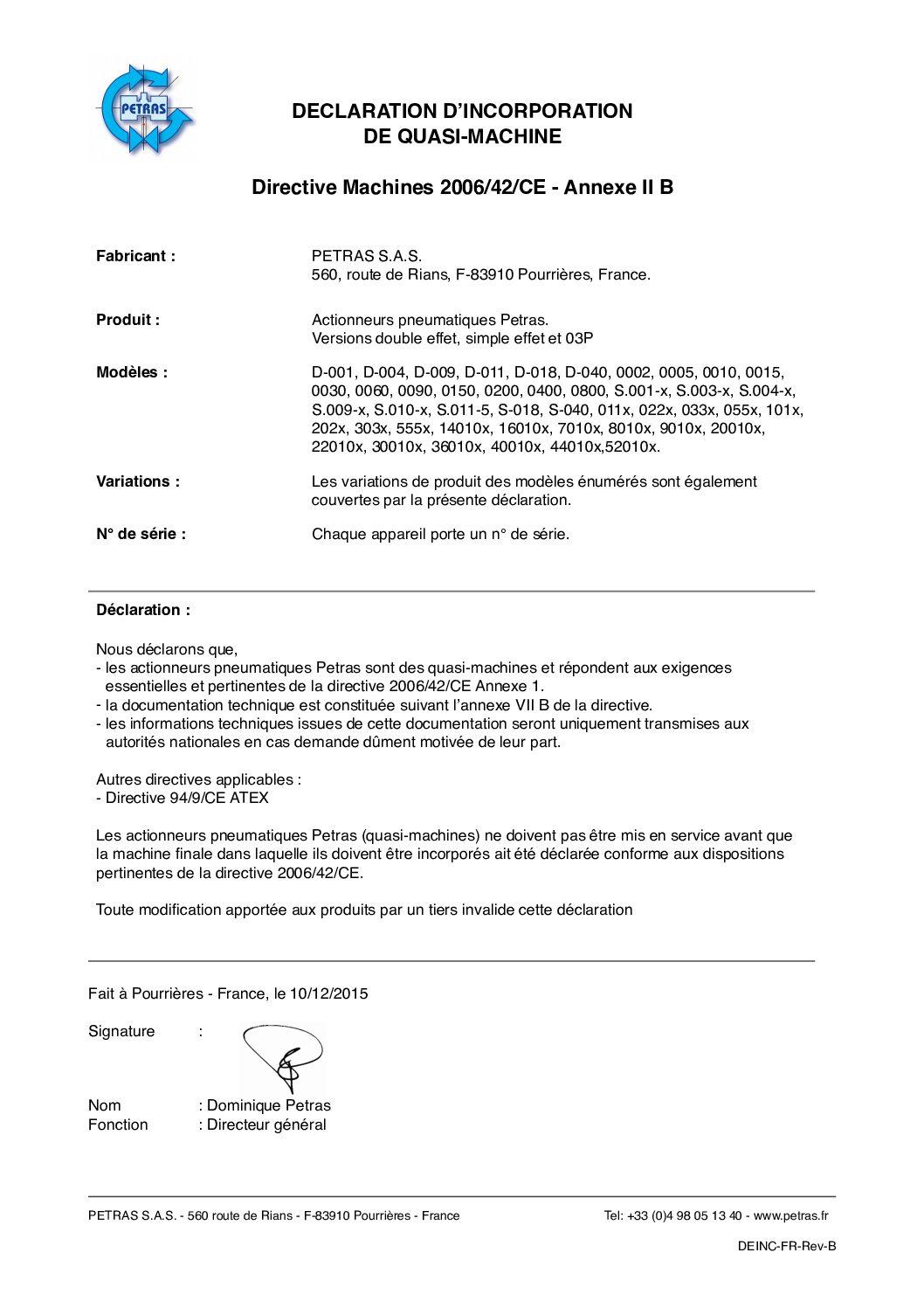 directive 2006/42/CE